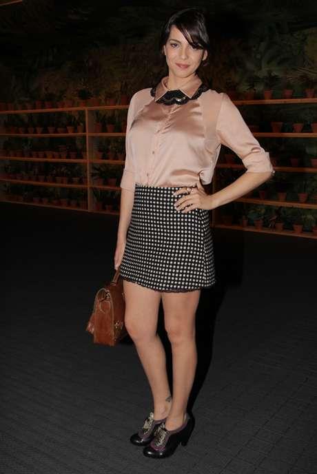 Tainá Müller diz que gosta de fazer seu próprio estilo