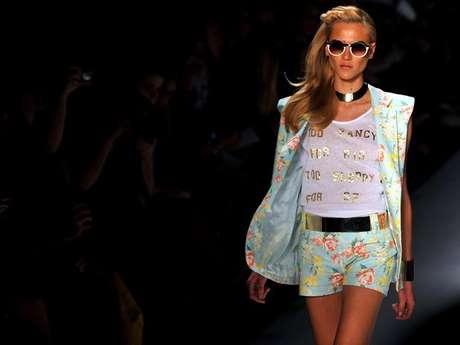 Desfile da grife Ausländer na última edição do Fashion Rio