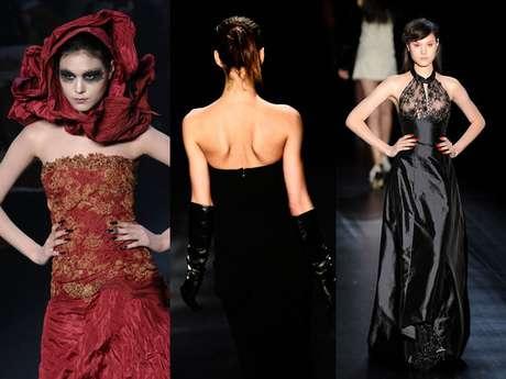 O SPFW ficou marcado pela grande quantidade de vestidos de festa. Veja a relação com os principais looks de gala da semana de moda paulistana: