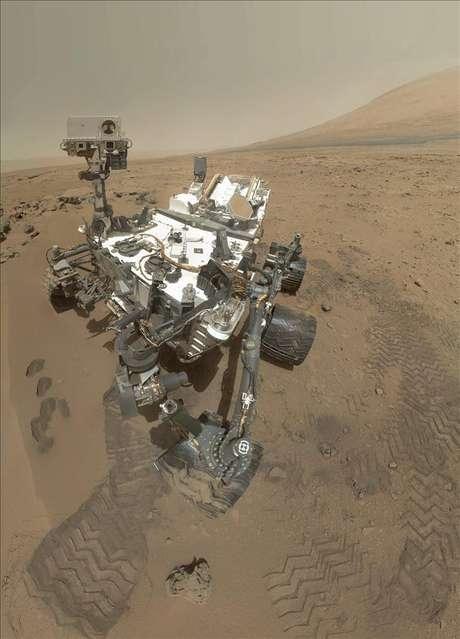 Autorretrato del explorador Curiosity que se encuentra en Marte.