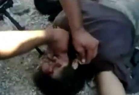 La imagen es de un video grabado en julio y subido a YouTube el 3 de noviembre de 2012, según reporta la agencia AFP
