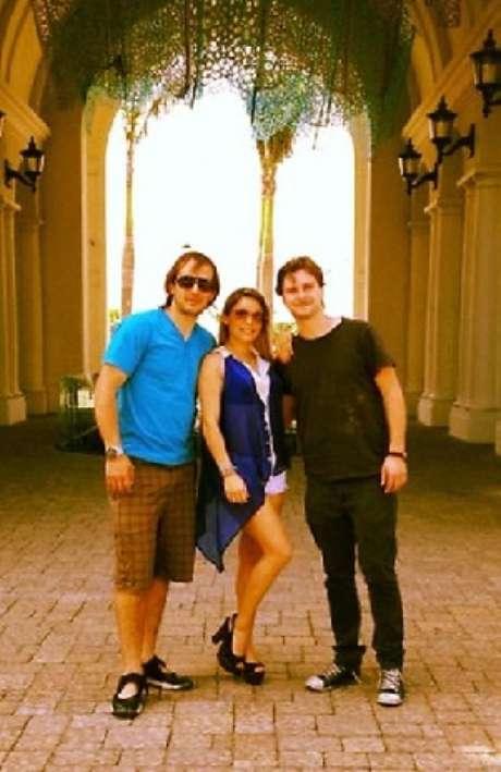 Federico Kach, Fernando Gallardo y Jean Philippe Cretton están en Ecuador.