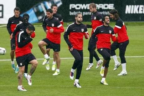 Entrenamiento Atletico De Madrid
