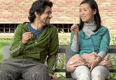 Los actores Javier Ortíz y Liao Xuan protagonizan este filme de amor y desencuentros.