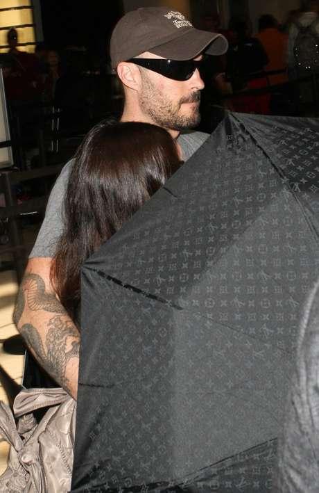 Megan Fox y Brian Austin Green siempre se mostraron herméticos respecto al embarazo de la actriz.