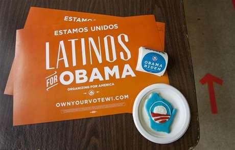 Voto hispânico ajudou a garantir o segundo mandato ao presidente dos Estados Unidos Barack Obama. 06/11/2012.