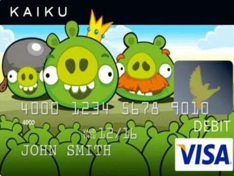 Los Angry Brids decorarán las tarjetas Visa el próximo año