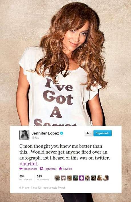 Jennifer Lopez se siente herida por lo que se dice de ella.