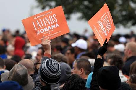 Obama tuvo un masivo apoyo de los hispanos en las elecciones del martes.