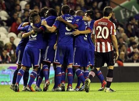 El Athletic Club de Bilbao perdió con el Olympique de Lyon en San Mamés 2-3.