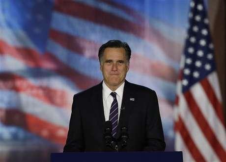 Mitt Romney desapareció de la escena pública.