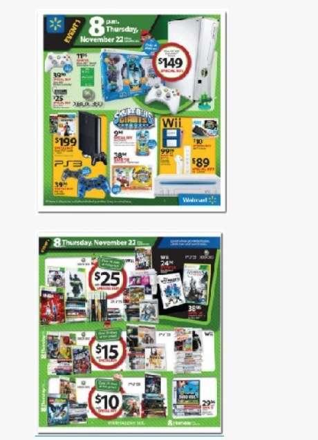 Wal-Mart ya está tentando a los consumidores con sus ofertas de 'Black Friday'