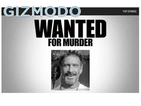 John McAfee, el billonario inglés creador del antivirus, está siendo buscado en Belice acusado del homicidio de un vecino