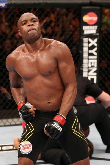 O lutador Anderson Silva mantém uma dieta equilibrada para garantir o peso antes das lutas