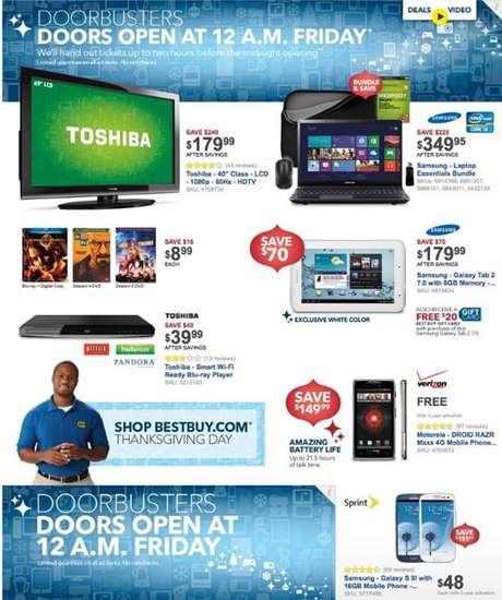 Revisa el catalogo de ofertas de Black Friday de Best Buy y escoge tus regalos favoritos.