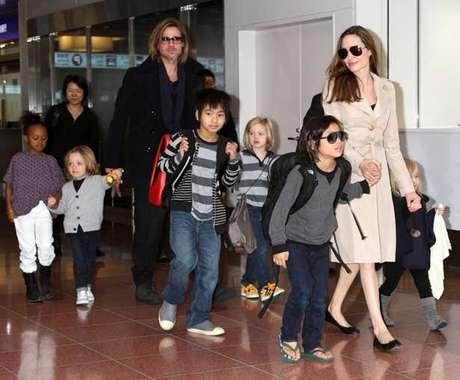 La familia de Angelina ya hizo su pedido para Navidad