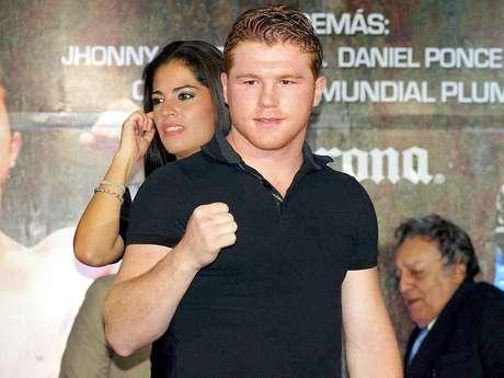 Saúl 'Canelo' Álvarez, boxeador mexicano