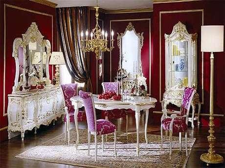 El nuevo estilo barroco fastuoso rom ntico y actual - Estilo barroco decoracion ...