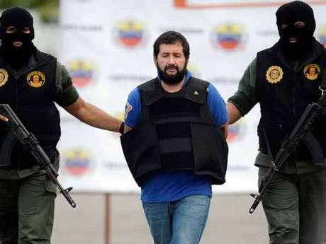Barrera, a quien el Gobierno considera el último gran capo del narcotráfico, fue trasladado desde Caracas en un avión de la Policía Nacional.
