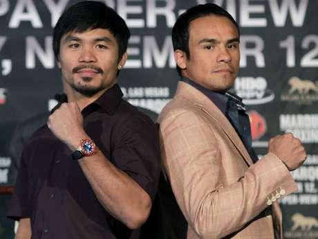 Pacquiao y Márquez pelearán por cuarta ocasión el próximo 8 de diciembre.