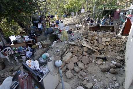 El 20 de marzo de 2012 un sismo de 7,6 grados de magnitud había sacudido la zona de Ometepec, en el estado de Guerrero.