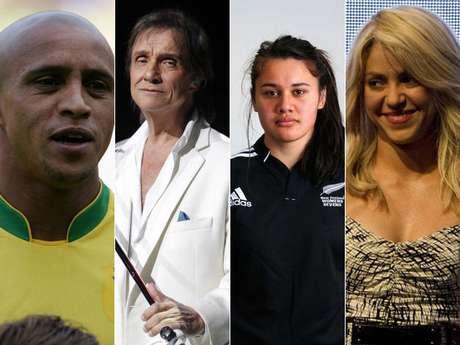 Como parte de la cobertura especial de fin de año de Terra, te les presentamos los mejores contenidos que trabajamos en el 2012. Esta galería forma parte de los contenidos originales y atemporales que hemos elaborado este año, y que deseamos vuelvas a disfrutar. Puede que los siguientes atletas y celebridades compartan el mismo nombre, pero no necesariamente la misma fama. A continuación, te presentamos a algunos deportistas que tienen el honor o que curiosamente se llaman como los famosos.