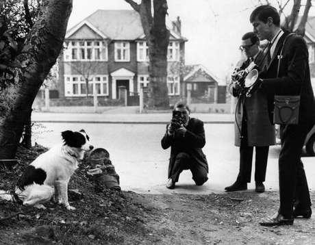 El legendario perro encontró el trofeo enterrado cerca de un árbol cuando su amo, David Corbett, lo sacó a un paseo, como cualquier otro, el 27 de marzo de 1966.