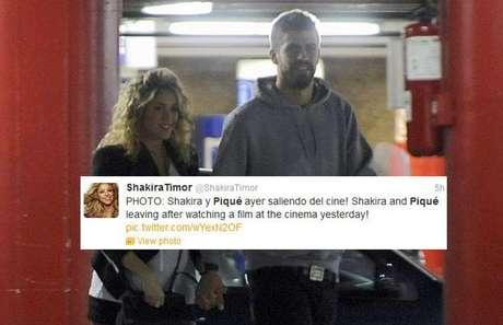 Shakira y Piqué fueron fotografiados dejando el cine. Pero, ¿qué película habrán visto?