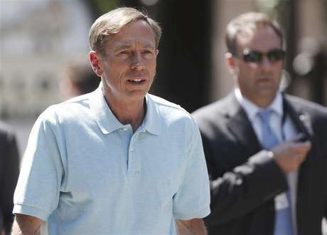 Former Director of the Central Intelligence Agency General David Petraeus attends the Allen & Co Media Conference in Sun Valley, Idaho July 12, 2012.