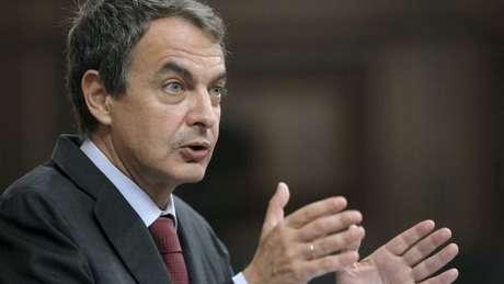 Zapatero, cuando todavía era el presidente del Gobierno