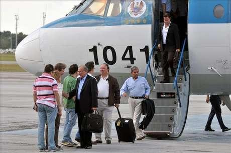 Llegan a Cuba los delegados del Gobierno colombiano para el diálogo con FARC