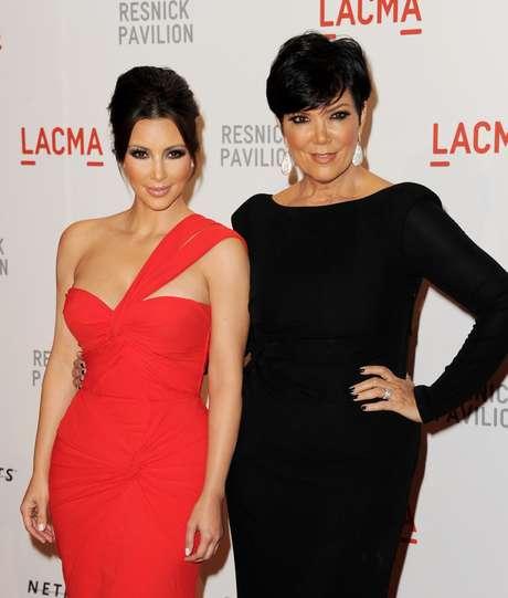 Kim Kardashian tiene a su madre como ejemplo a seguir