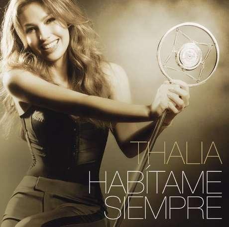 """Thalía llega al tope con """"Habítame Siempre""""."""