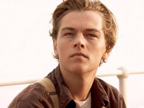 """Leonardo DiCaprio. Jack Dawson en """"Titanic""""."""