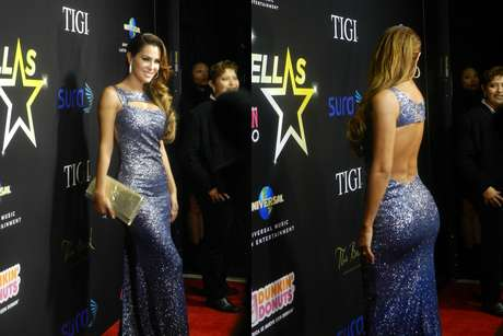 "NOVEMBER 15, 2012, LAS VEGAS, NV:  Is your computer screen melting yet?  Check out ""El Bombon Asesino,"" Ninel Conde, showing off her bootylicious backside at Cosmopolitan en Español's Fab at 40 Anniversary Bash.  Did you look at her face yet?"