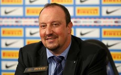 Rafa Benítez foi apresentado como técnico do Chelsea após a demissão de Di Matteo