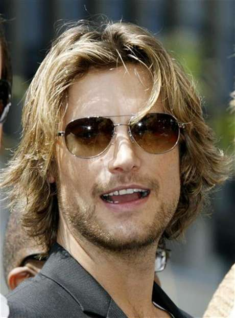 Gabriel Aubry attends ceremonies unveiling Halle Berry's star on the Hollywood Walk of Fame in Hollywood, California April 3, 2007.