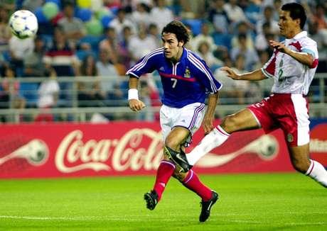 El francés Robert Pires rompió con la hegemonía brasileña, aunque de una forma poco espectacular: 2 goles en Corea-Japón 2001.