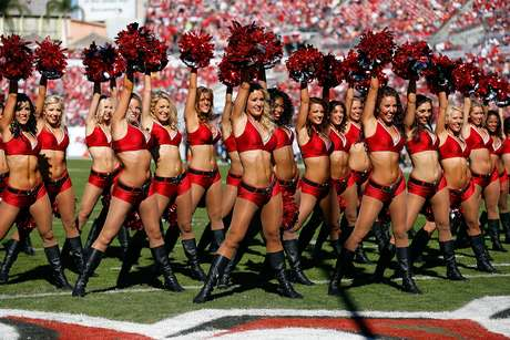 Cute cheerleaders added color and beauty to NFL's Week 12.