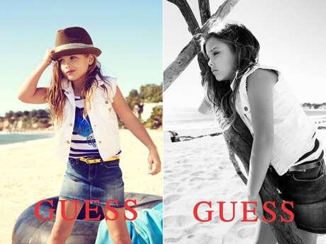 Hija de Anna Nicole Smith debuto como modelo en 'Guess'