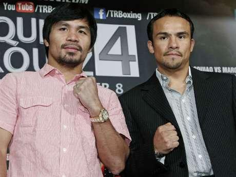 Pacquiao y Márquez están a menos de  dos semanas para encontrarse en el ring por cuarta ocasión.