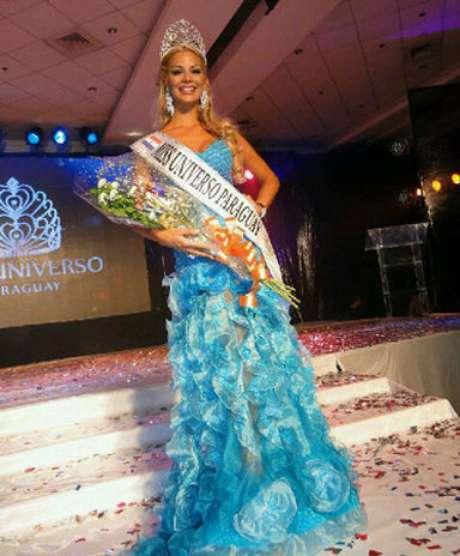 Ella es Egni Analia Almirón Eckert quien representará al país guaraní en el próximo certamen de Miss Universo 2012.
