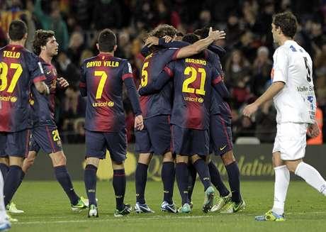 O Barcelona segue como melhor equipe do mundo