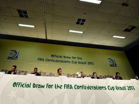 Confederações 2013 terá reedição da final da Copa de 1994