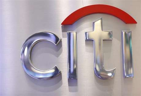 A Citi sign is seen at the Citigroup stall on the floor of the New York Stock Exchange, October 16, 2012.