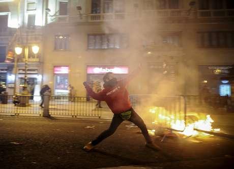En noviembre, España, Portugal e Italia se unieron en una protesta que movilizó a millones de personas