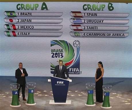 Brasil y Uruguay iban a quedar en el mismo grupo por una confusión.