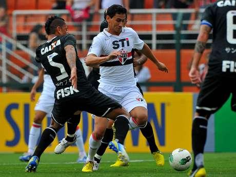 Ganso elogiou a estrutura do São Paulo em comparação com o Santos