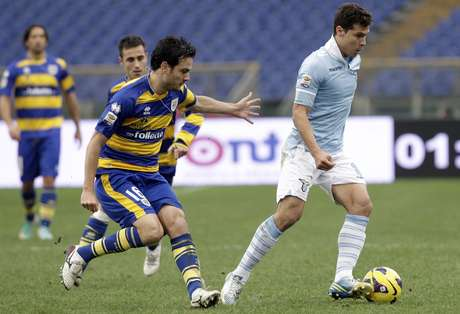 Hernanes vem se destacando com a camisa da Lazio