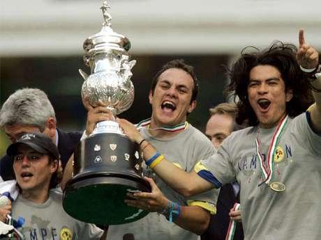 Uno de los grandes momentos de la carrera de Cuauhtémoc Blanco: el título con el América.